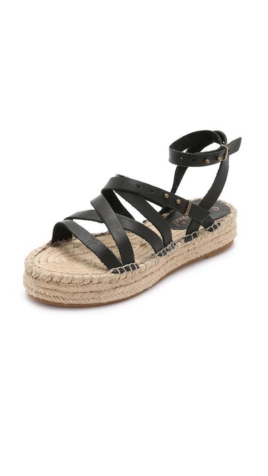 Splendid Erin Double Espadrille Sandals