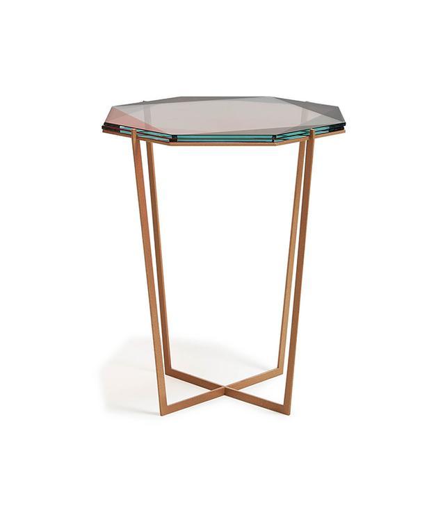 Debra Folz Pink Gem Side Table