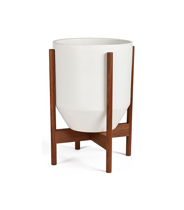 Modernica Case Study Ceramic Hex Wood Stand