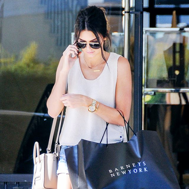 Kendall Jenner Wore the Perfect Shoes for Shopping