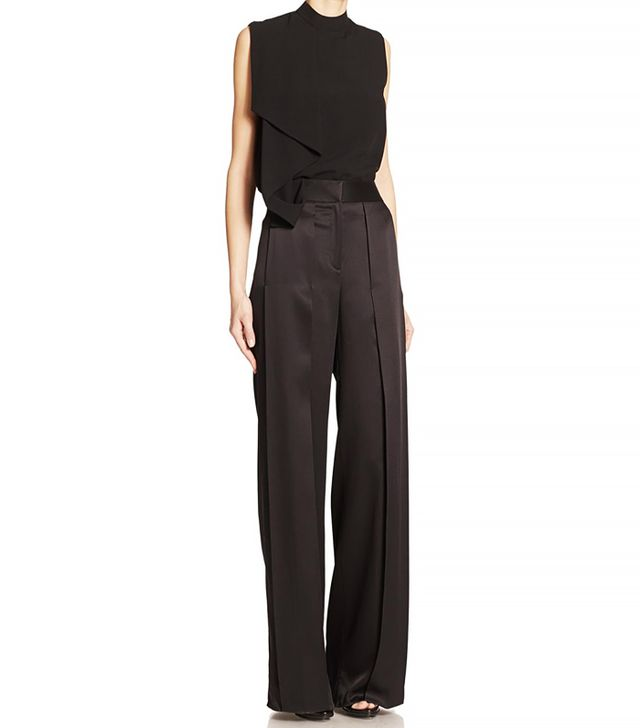 Jason Wu Satin Overlay Trousers