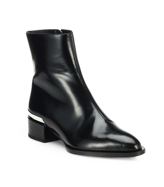 Vince Yasmin Leather Booties