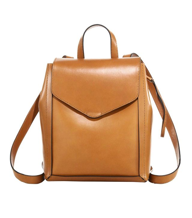 Loeffler Randall Mini Leather Backpack