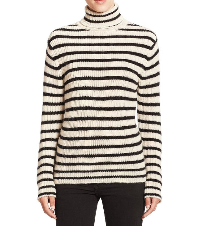 IRO Seely Striped Turtleneck
