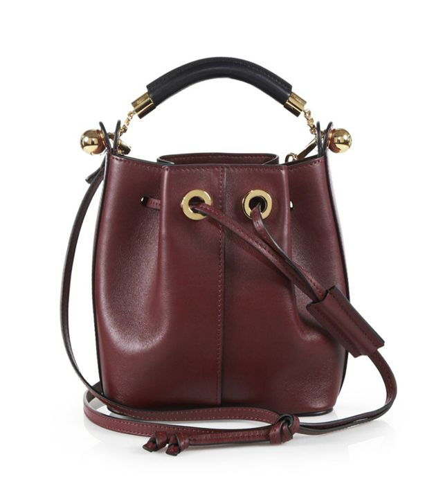 Chloé Gala Small Leather Bucket Bag