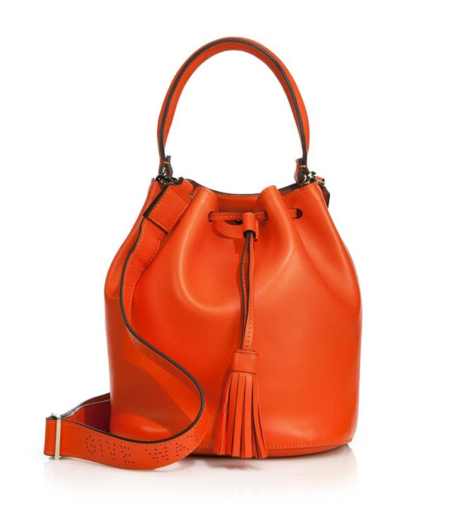 Anya Hindmarch Vaughan Leather Bucket Bag