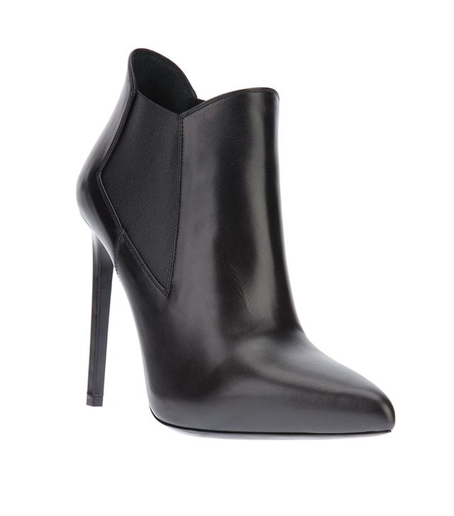 Saint Laurent Classic Paris 80 Ankle Booties