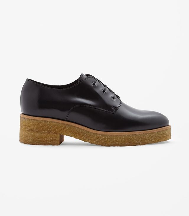 COS Crepe Sole Lace-Up Shoes
