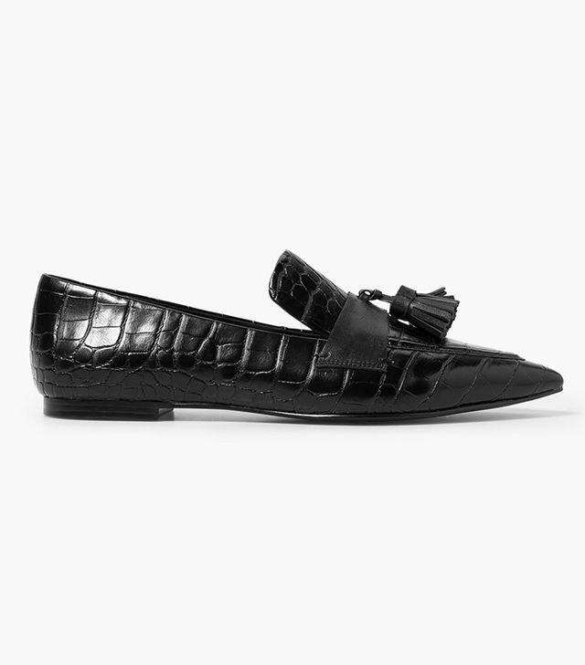 Mango Pointed Loafers