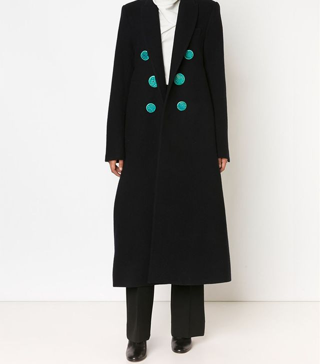 Ellery Long Double-Breasted Coat