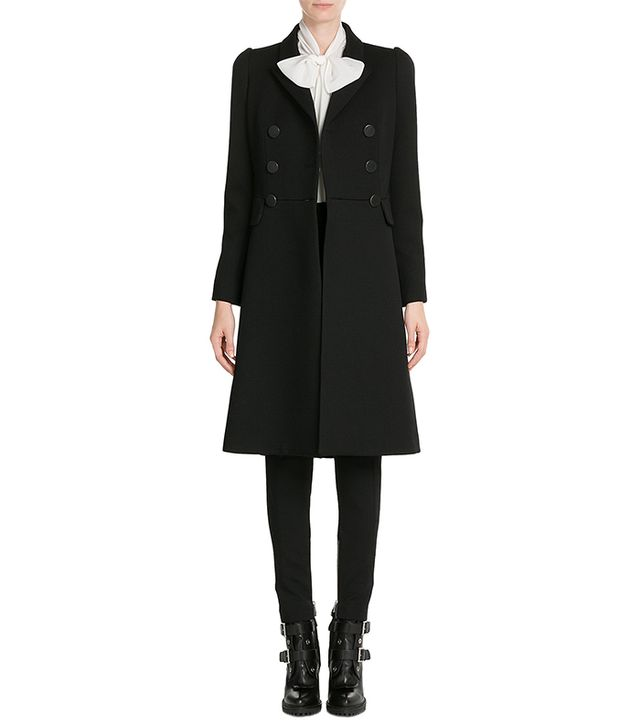 Alexander McQueen Virgin Wool Coat