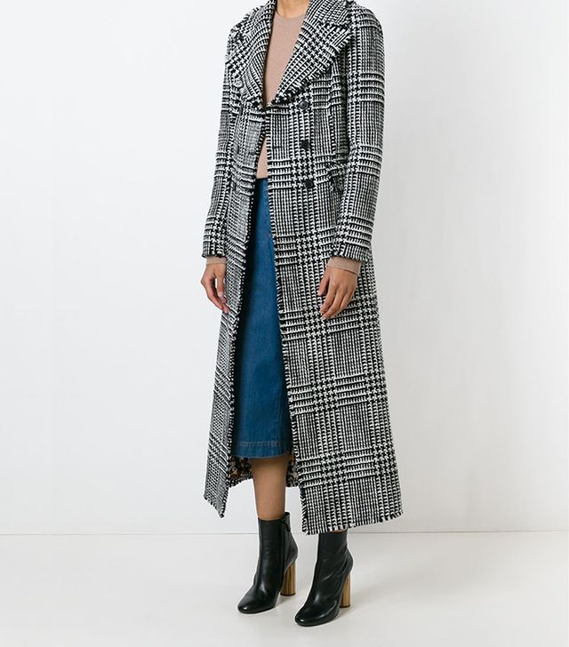 Missoni Check Print Long Coat