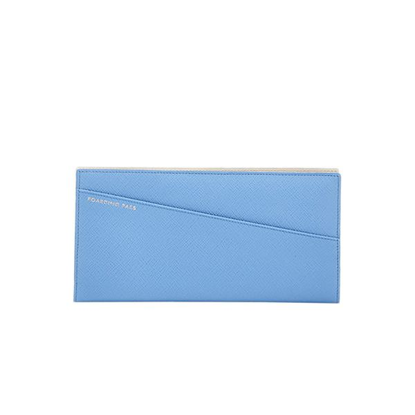 Smythson Panama Slim Travel Wallet