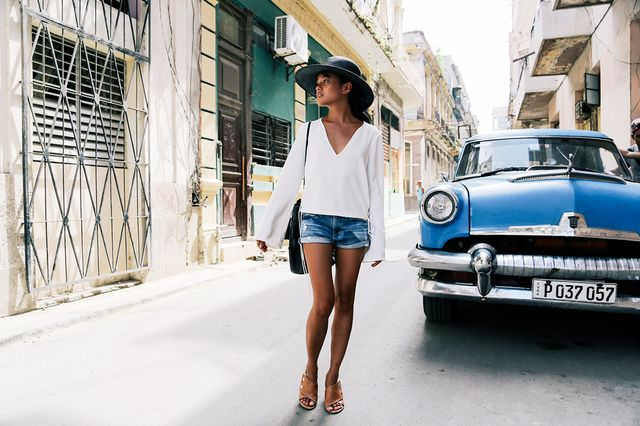 MyDomaine: What's your biggest travel rule to live by?  Olivia Lopez:Be flexible and adaptable, and always ask where the locals go.  MD: What's your favorite city...