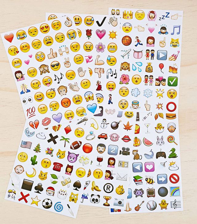Urban Outfitters Emoji Sticker Sheet Set