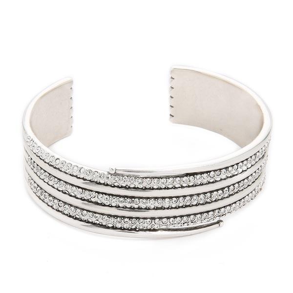 Luv Aj The Pave Coil Bangle Bracelet