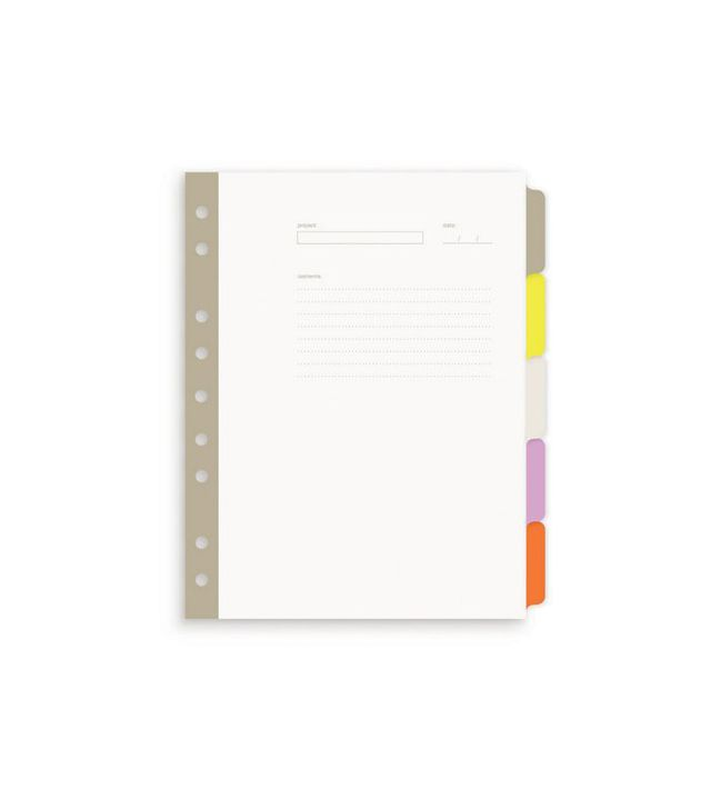 Russell + Hazel Mini 5-Tab Index Dividers