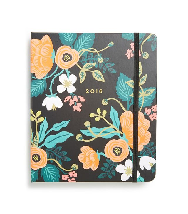 Rifle Paper Co. 2016 Floral 17-Month Agenda