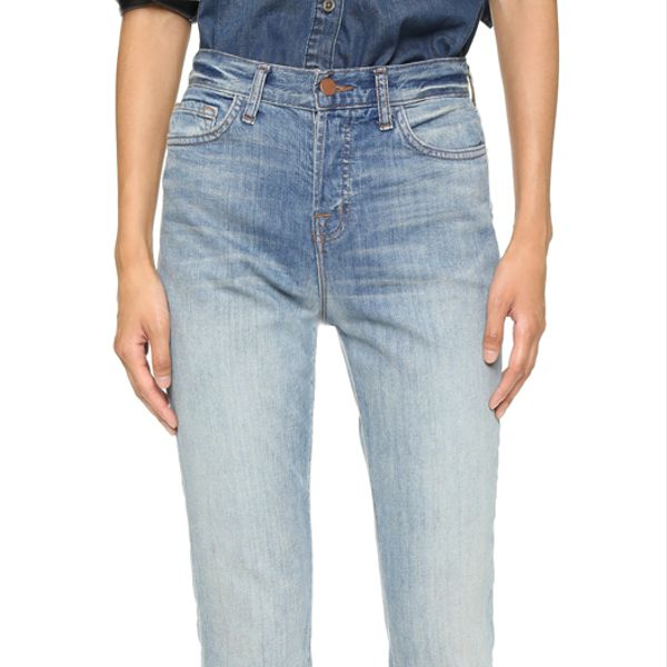 J Brand Arley High Rise Boyfriend Jeans