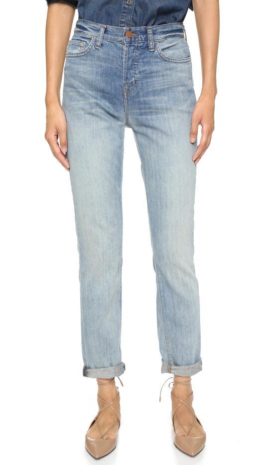 J Brand Arley High Rise Boyfriend Jeans