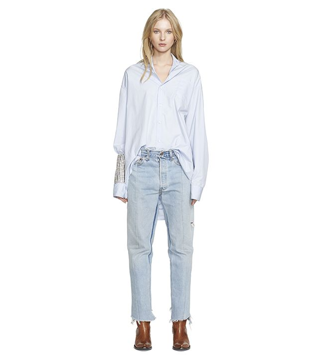 Vetements Oversize Cotton Shirt