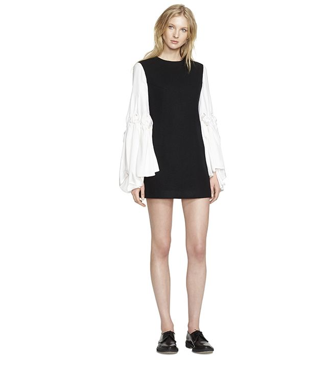 Creatures of the Wind Dara Double Face Stretch Wool Dress