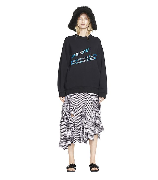 Acne Studios Beta Return Graphic Sweatshirt