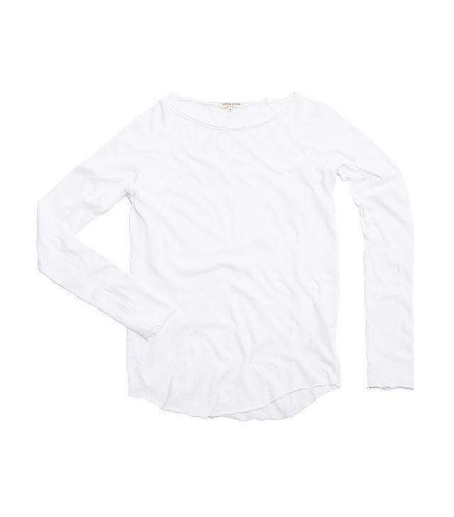 Cotton Citizen Raw Edge Raglan Shirt