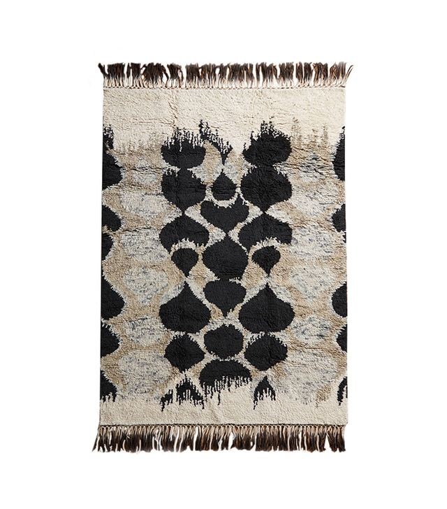 Anthropologie Pebbled Pond Rug