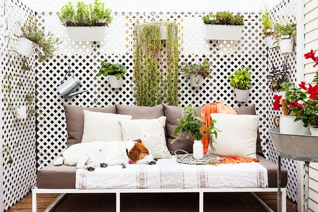 This charming cottage's fresh patio space makes for the perfect spot for entertaining.