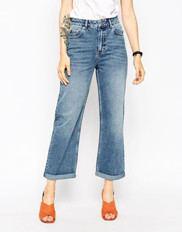 ASOS Baggy High Rise Jeans