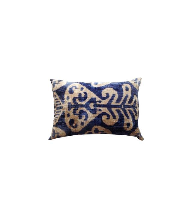 Chairish Antique Turkish Silk Velvet Pillow