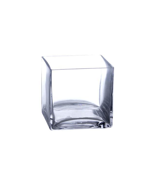 "Candles 4 Less 5"" Bulk Square Vases"