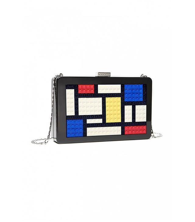 Les Petits Joueurs Andy Mondrian Clutch