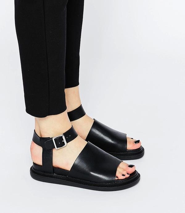 ASOS Friday I'm In Love Flatform Sandals