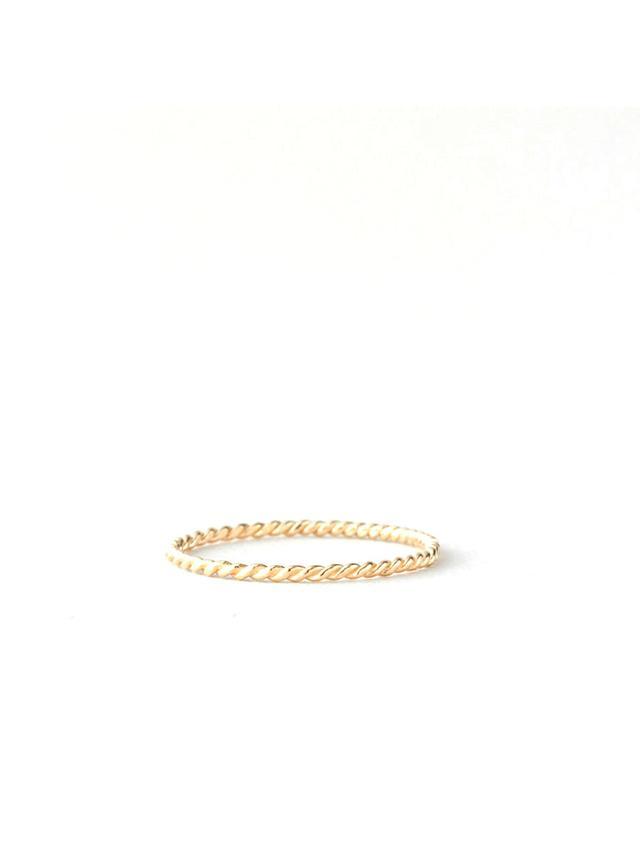 Gabriela Artigas Gold Rope Ring
