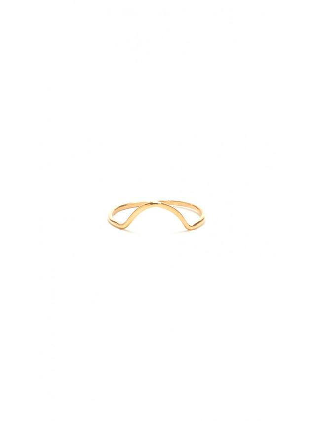 Wwake Mini Arc Ring