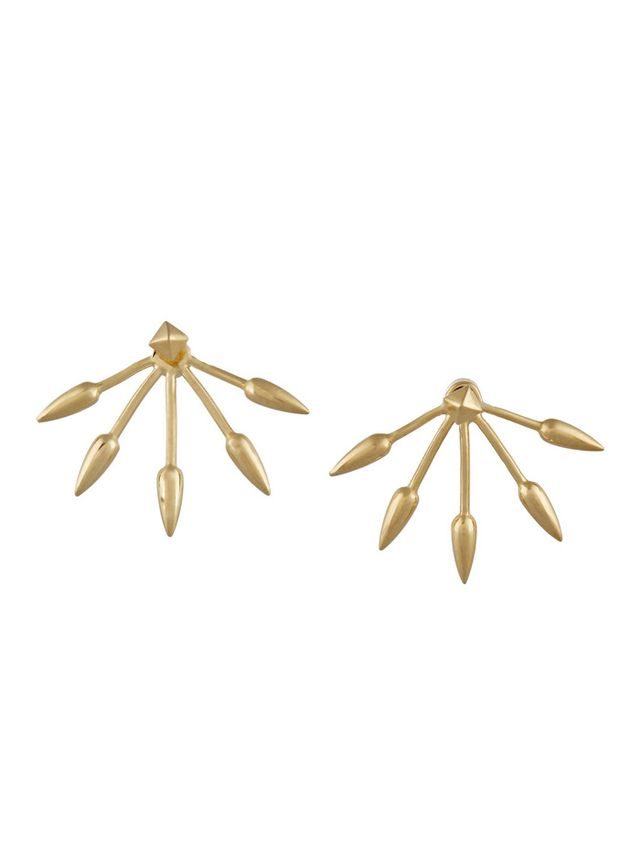 Pamela Love 5. Spike Gold-Plated Earrings