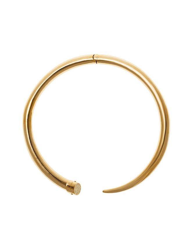 Michael Kors Gold-Tone Choker Necklace