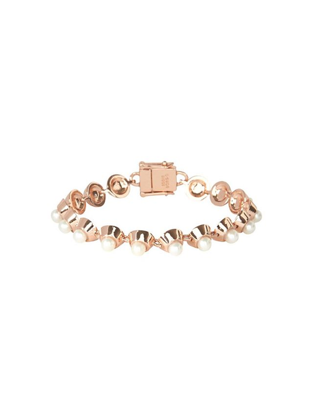 Eddie Borgo Cabochon Pearl Bracelet