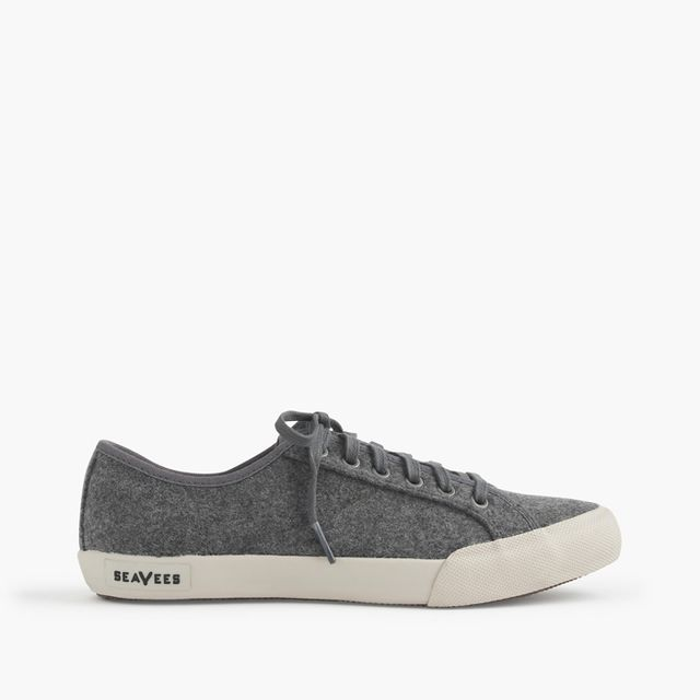 SeaVees for J.Crew Heather Grey Monterey Sneakers