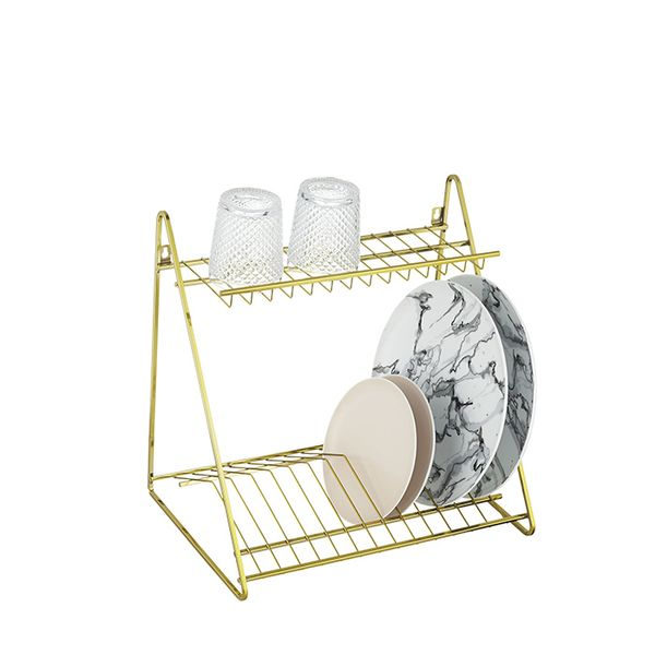 Gold Dish Rack
