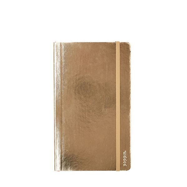 Poppin Poppin Metallic Gold Notebook