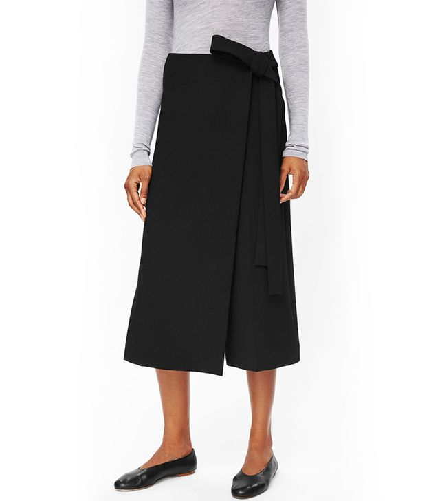 COS Wrap-Front Trousers