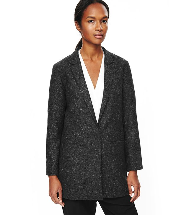 COS Long Wool Blazer
