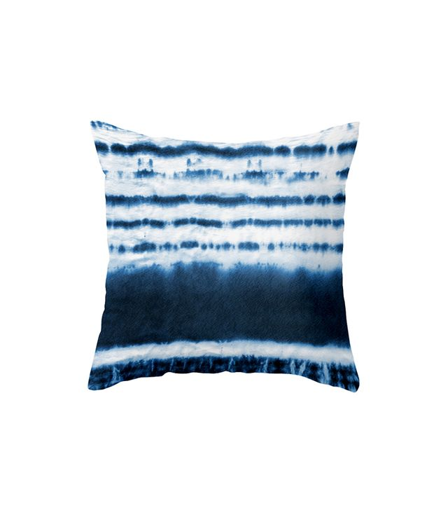 Dot & Bo Blue Dipped Tie Dye Pillow