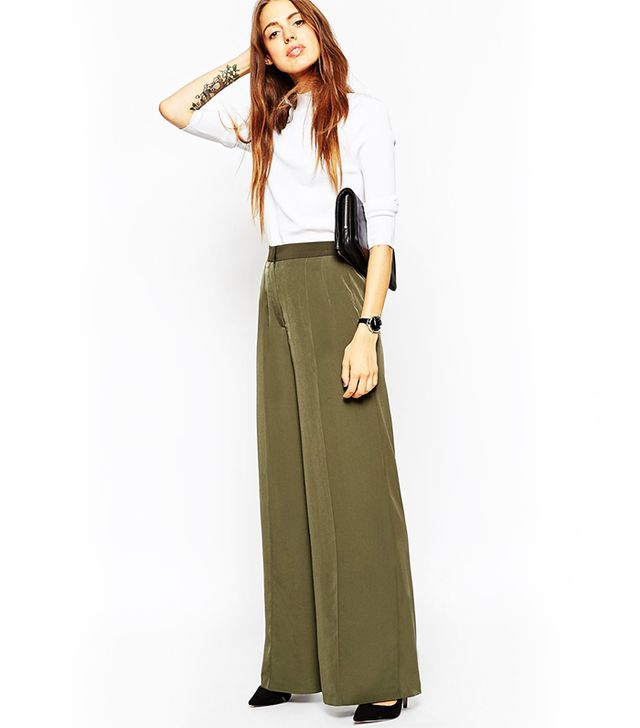 ASOS Relaxed Wide Leg Pants