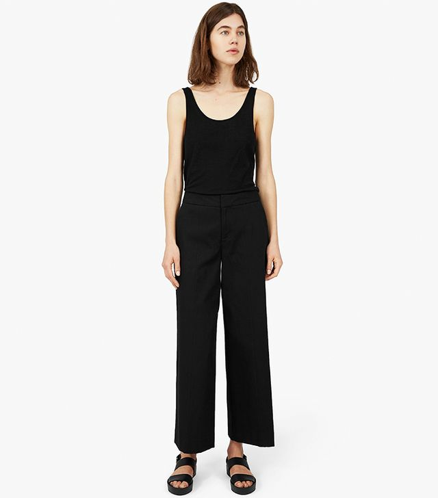 Everlane The Wide Leg Structure Pants