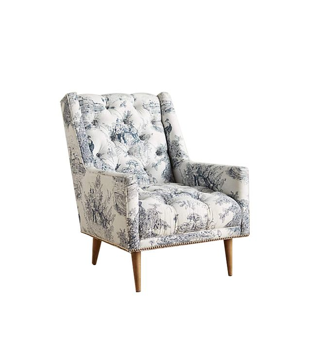 Anthropologie Toile Booker Chair