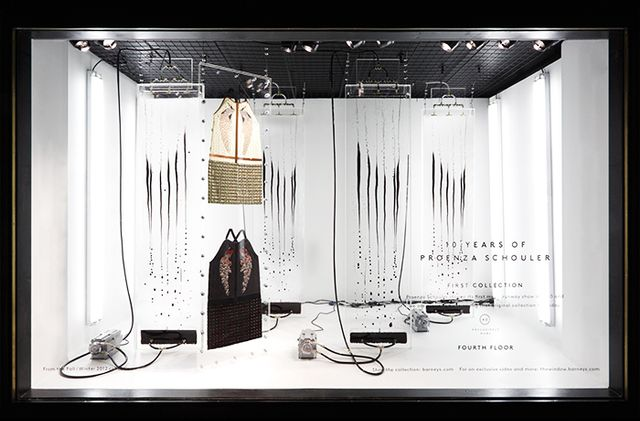 What are some crucial elements for an appealing store window?   [We believe that at] all our doors,the viewing experience should be different. For Madison, we know we have [a lot of]...